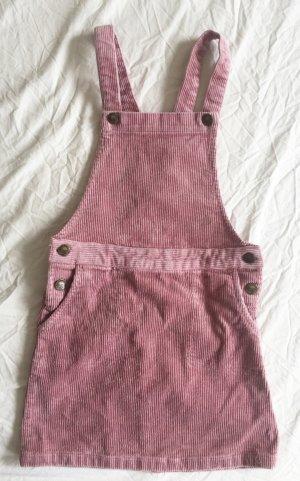 Kleid aus Cord in Altrosa NEU