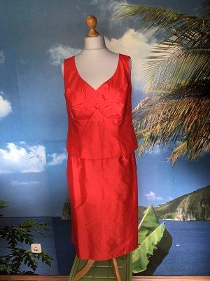 Kleid aus Dupionseide