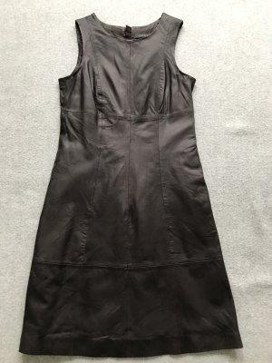 Kleid aus echtem Leder
