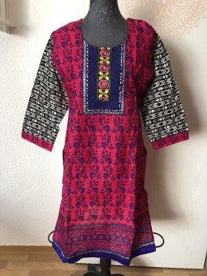 Robe Hippie multicolore