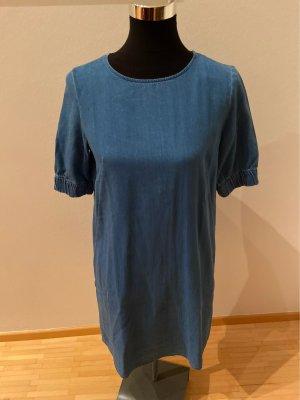 COS Jeansowa sukienka stalowy niebieski