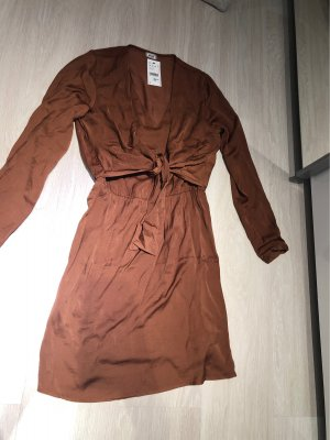 Pimkie Blouse Dress brown-bronze-colored