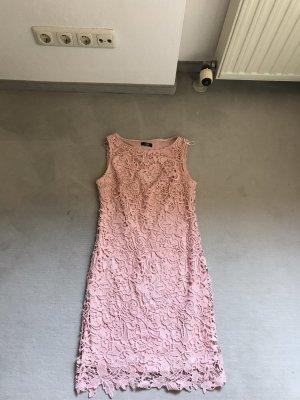 Wallis Abito aderente color oro rosa-rosa chiaro