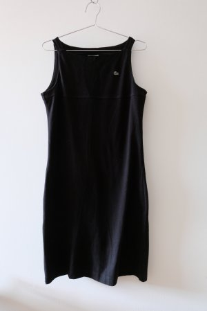 Lacoste Robe t-shirt noir coton