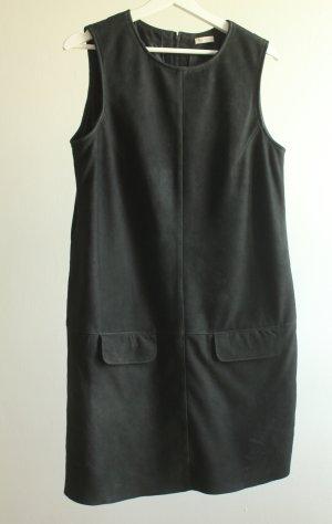 Kleid aus Veloursleder