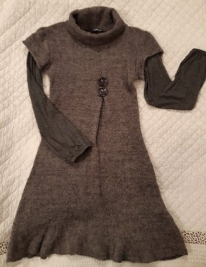 Talia Benson Vestido de lana multicolor