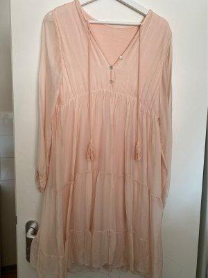 0039 Italy A-lijn jurk lichtroze