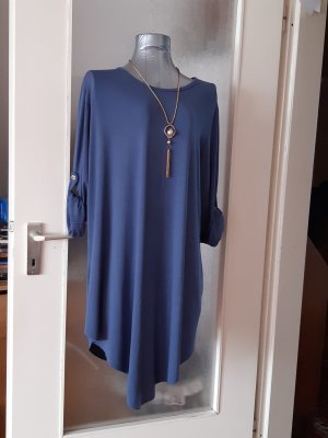Made in Italy Blouse Dress blue