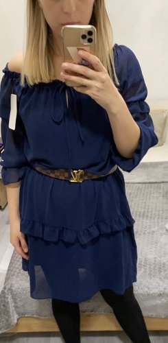 Babydoll Dress dark blue