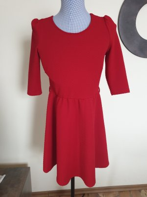 Atmosphere Vestito peplo rosso