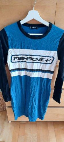 Fishbone Abito felpa blu
