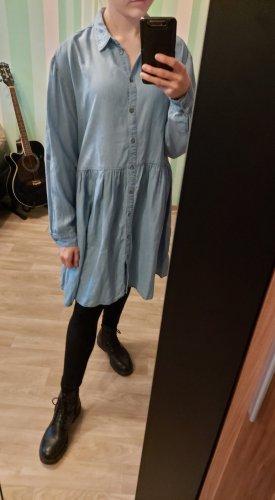 H&M Vestido babydoll azul
