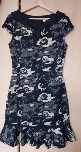 Badgley Mischka Suknia wieczorowa ciemnozielony