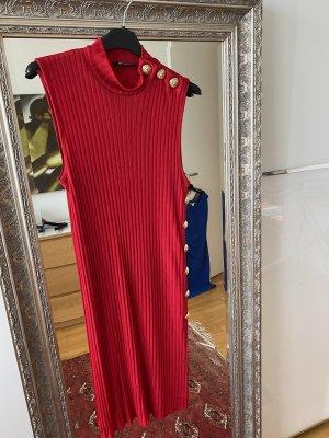 Balmain Mini-jurk donkerrood