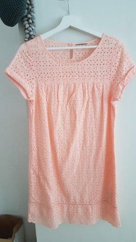 Kleid Baumwolle, apricot, Gr. 38