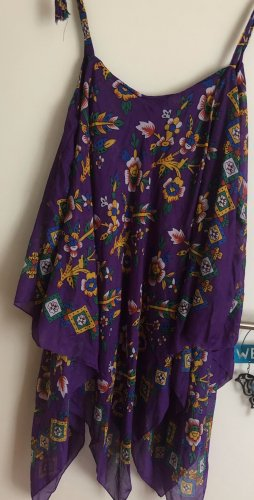 Kleid Baumwolle lila