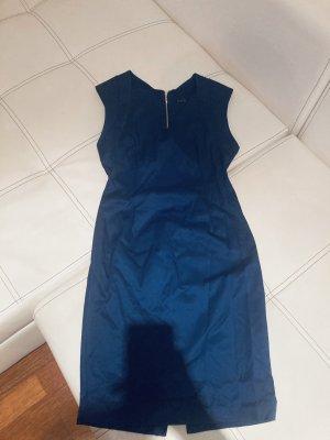 Zara Basic Pencil Dress cornflower blue