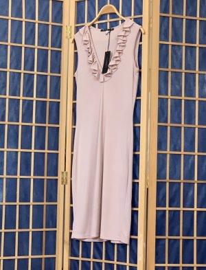 John Richmond Summer Dress dusky pink polyester
