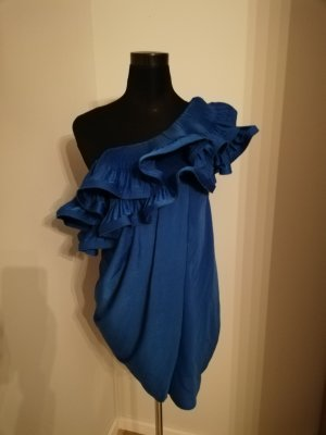 BCBG Maxazria Robe de soirée bleu