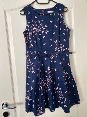 Apricot A Line Dress dark blue-pink