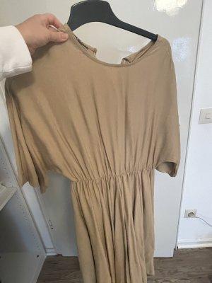 100% Fashion Robe trapèze beige