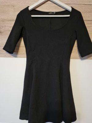 Bershka A Line Dress black
