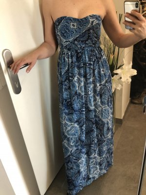 Kleid blau lang berschka small