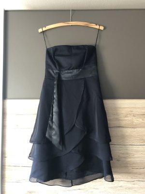 Kleid, blau, Marie Blanc