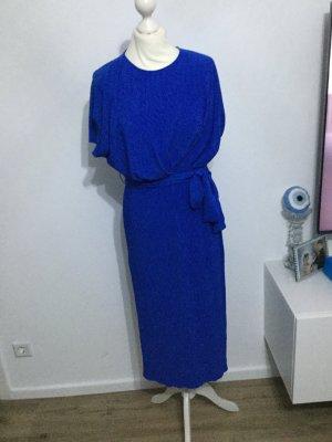 Kleid blau midikleid