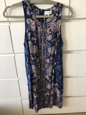 kleid blau mit paisley muster M alricot