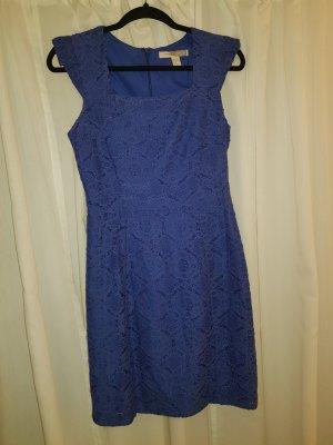 Kleid blau spitze 36