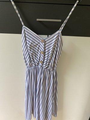 Kleid blau weiß gestreift