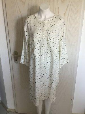 Kleid Bluse Blusenkleid Oberteil Freizeit Party Punkte Muster von H&M in 46 wNEU