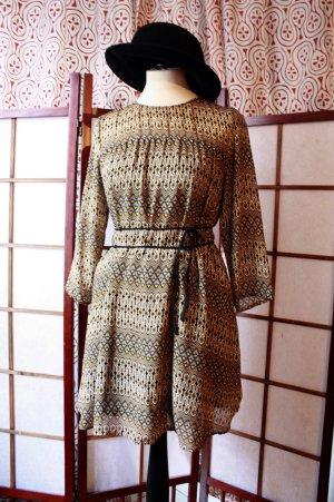 Kleid Bluse Ethnoprint Vintage NEU