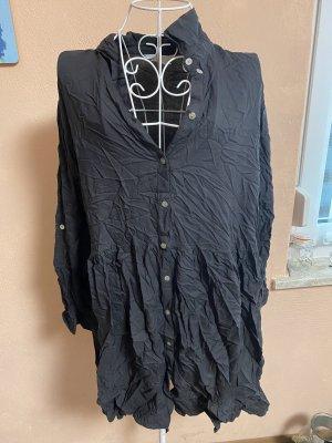 Kleid Blusenkleid Gr. 40 Schwarz