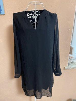 Kleid Blusenkleid Gr. S Schwarz