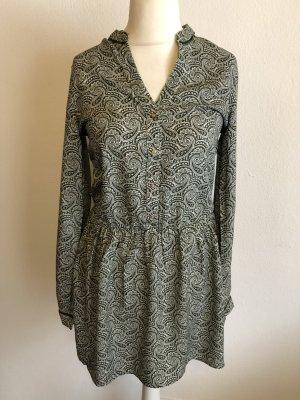 Kleid Blusenkleid Longbluse Kleidchen gemustert Gr. S