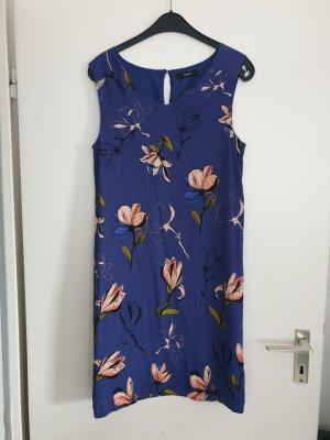 Kleid Bonita blau Blumen neuwertig S