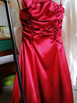 Kleid bordeaux corsage