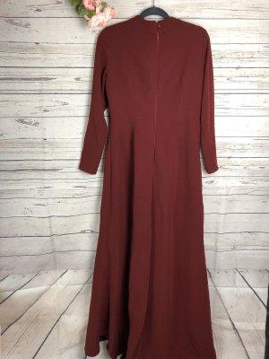 Kleid Bordeauxrot Rot Abendkleid Gr. 42