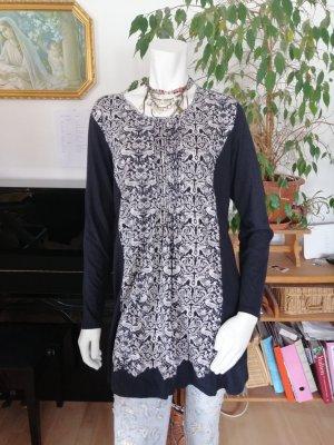 Braintree Longsleeve Dress white-black