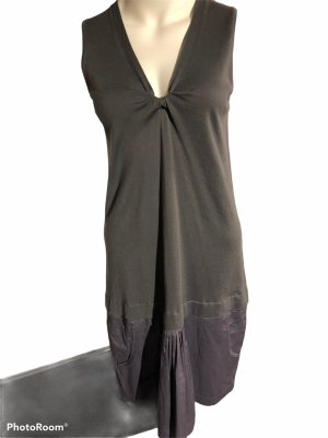 Brunello Cucinelli Cargo Dress dark grey