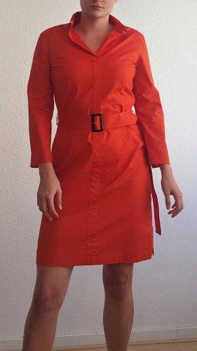 Boss Koszulowa sukienka czerwony