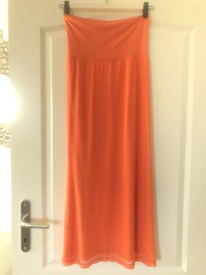 Elfenhaut Evening Dress neon orange