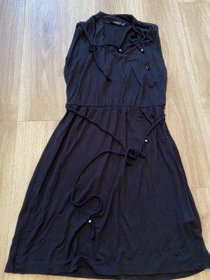 Flame Sukienka z dżerseju czarny