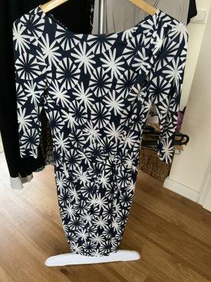 Laurèl Jersey Dress white-blue viscose
