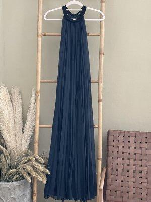 Max & Co. Sukienka z dekoltem typu halter ciemnoniebieski