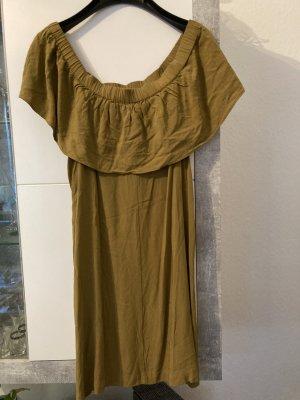 H&M Off the shoulder jurk veelkleurig Viscose