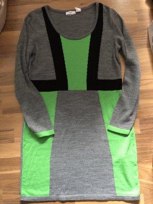 bpc bonprix collection Sukienka z długim rękawem Wielokolorowy