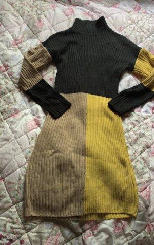 SheIn Wollen jurk veelkleurig